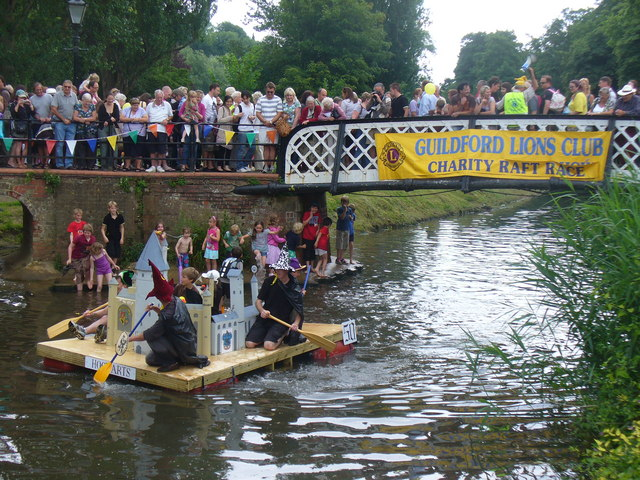 Guildford Lions Club, Charity Raft Race