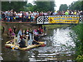 SU9949 : Guildford Lions Club, Charity Raft Race by Colin Smith