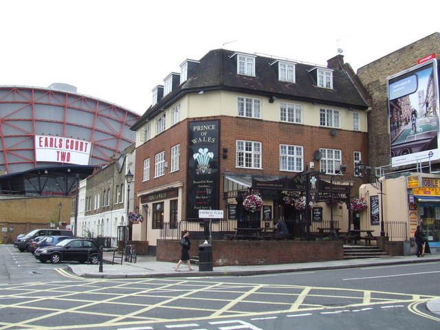 Prince of Wales pub, Earl's Court