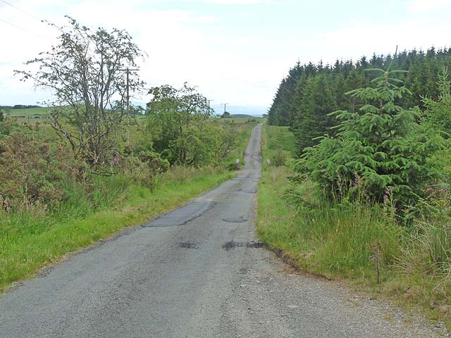 Country road near Kerr