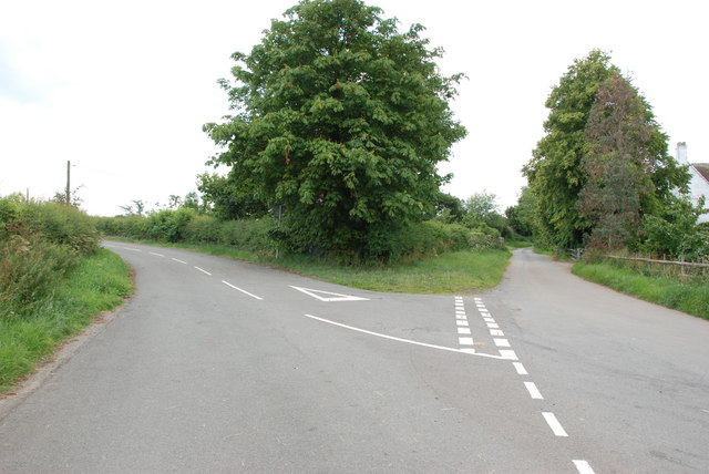 Road Junction by The Swinfen Veterinary Centre