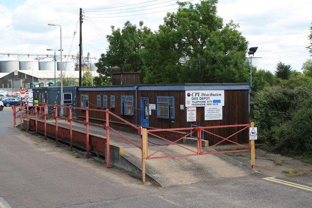 Weighbridge near Diss Station © Glen Denny cc-by-sa/2.0 ...
