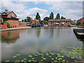 SP7287 : Market Harborough Wharf by Oast House Archive