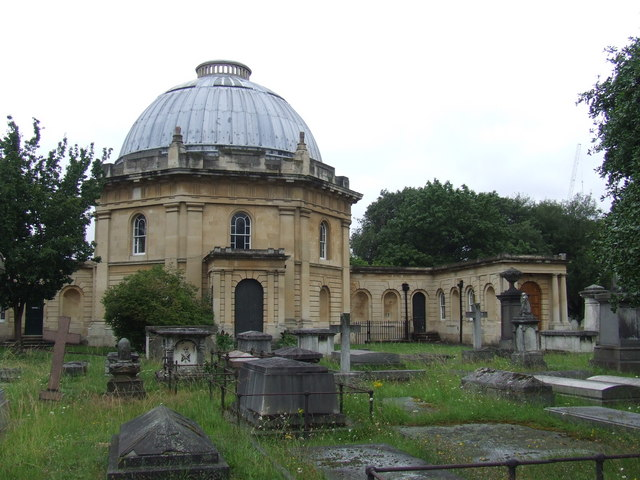 Brompton Cemetery, near Earl's Court