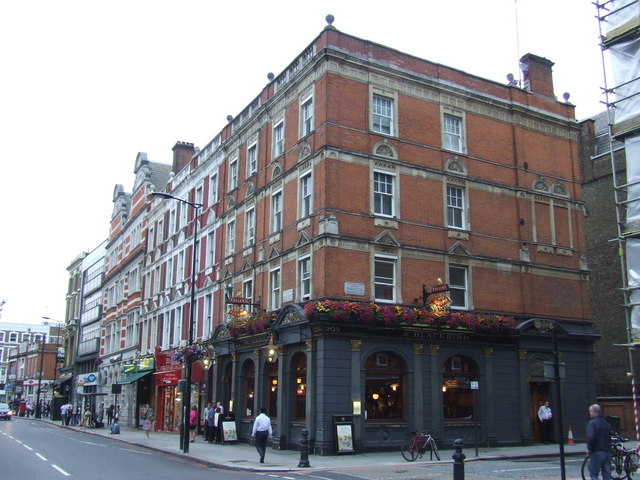 The Blackbird pub, Earl's Court