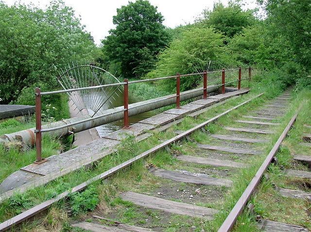 Disused railway near Milton, Stoke-on-Trent