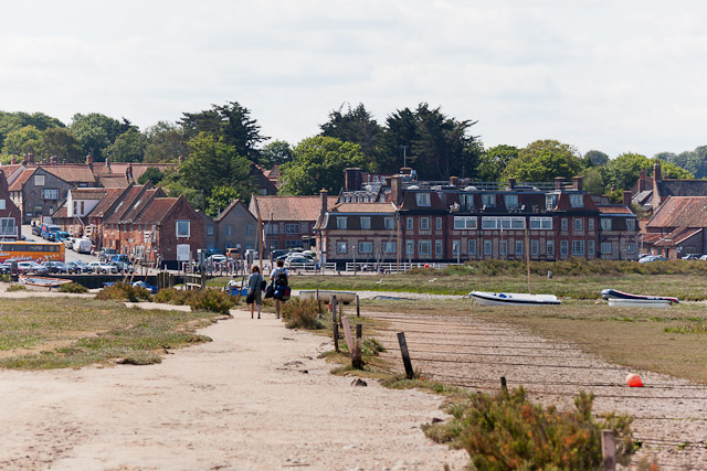 Quay front at Blakeney