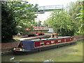 SP6991 : Narrowboat outside Debdale Wharf Marina by Oast House Archive