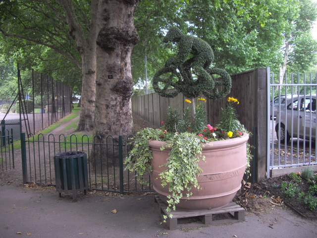 Plant Sculpture in Archbishop's Park