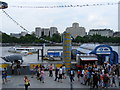 TQ3080 : Festival Pier, South Bank by PAUL FARMER