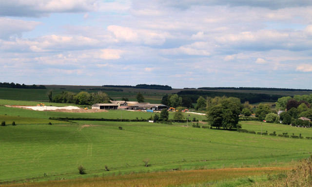2011 : East of north from the A360 south of Orcheston