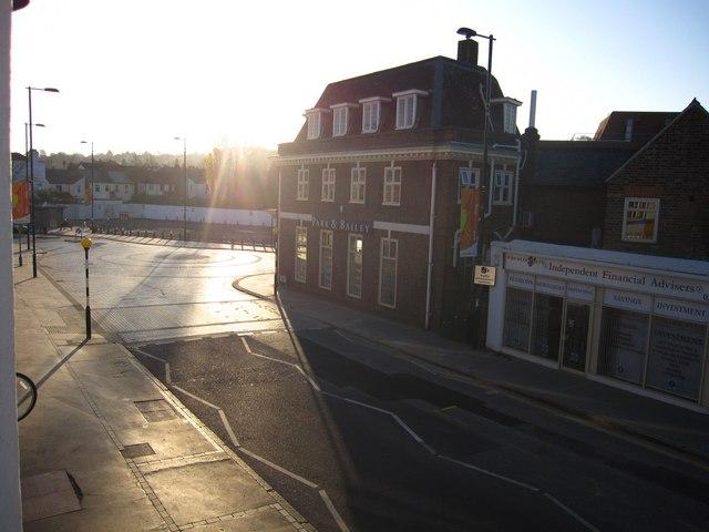 Sunrise, Smitham Bottom