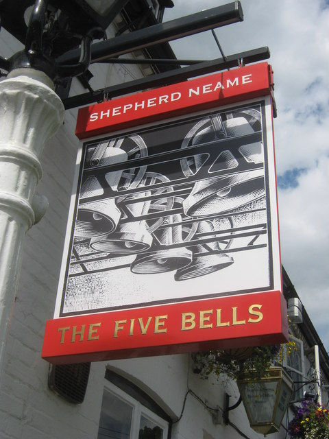The Five Bells, Pub Sign, Seal