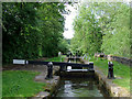 SJ9151 : Lock No 8 at Stockton Brook, Staffordshire by Roger  Kidd