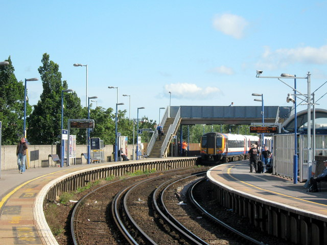 Poole Railway Station Roy Hughes Geograph Britain And