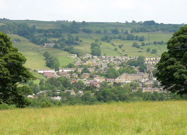 Pateley Bridge from the west