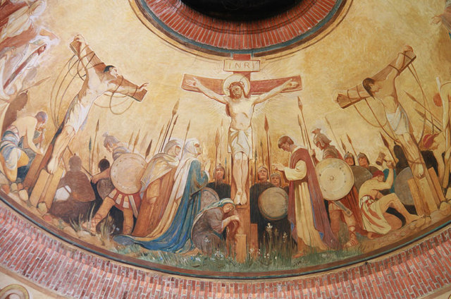St Jude on the Hill, Hampstead Garden Suburb - Ceiling painting
