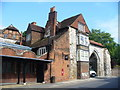 SU9949 : Guildford Museum and Castle Arch by Colin Smith
