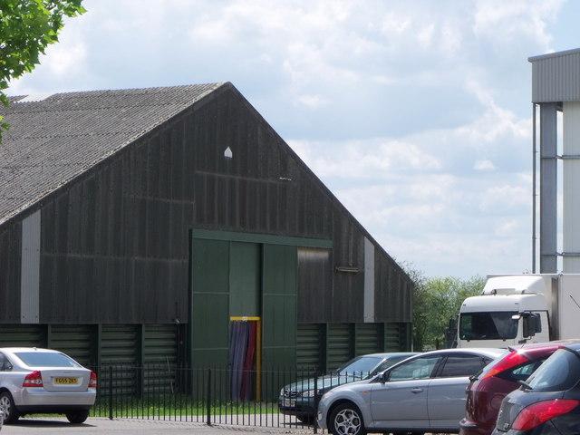 Warehouse at Tiptree jam factory