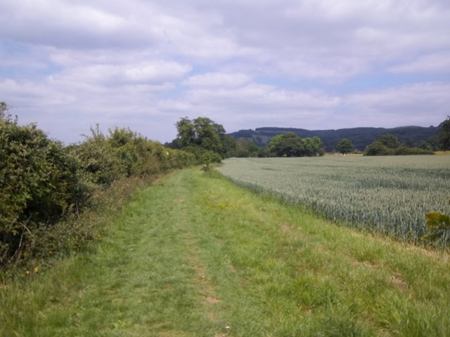 Field edge path
