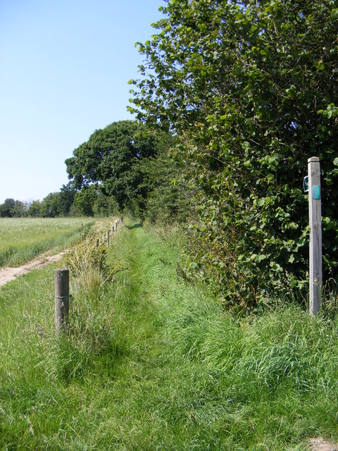 Footpath to The Wash & Title Road