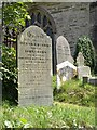 SX5153 : Gravestones, Plymstock by Derek Harper