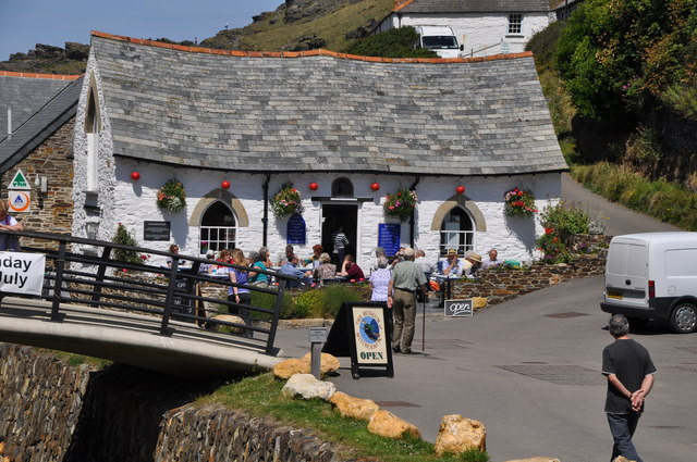 Harbour Lights Tea Room Pentire Head