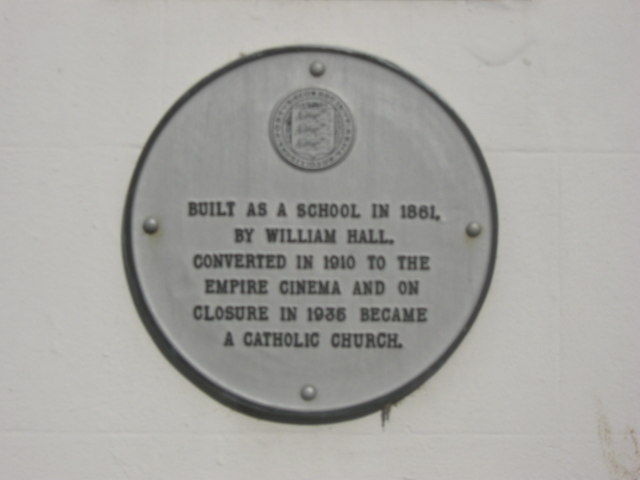 Plaque on Whitefriars