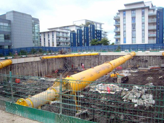 Residential construction site © Rod Allday cc-by-sa/2.0 ...