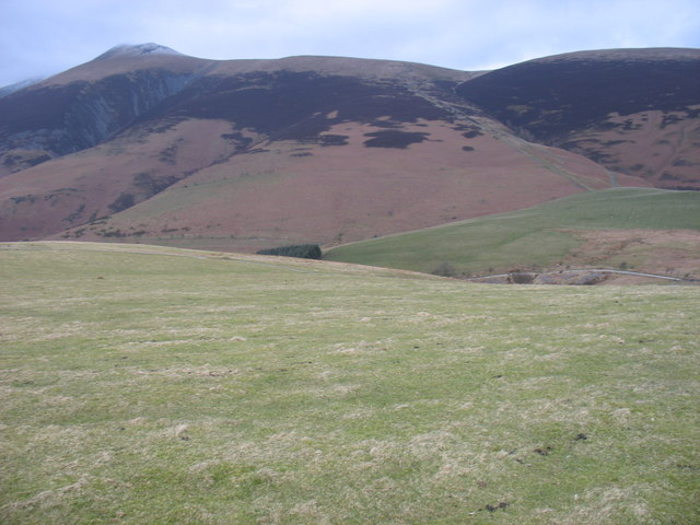 The northern slopes of Latrigg
