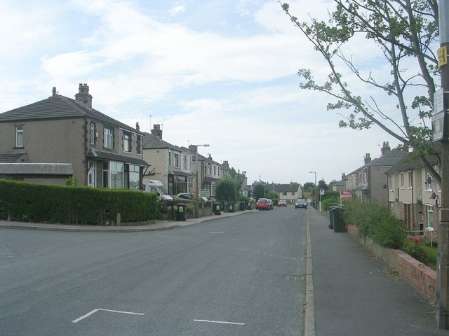 Thornacre Road - viewed from Thornacre Crescent