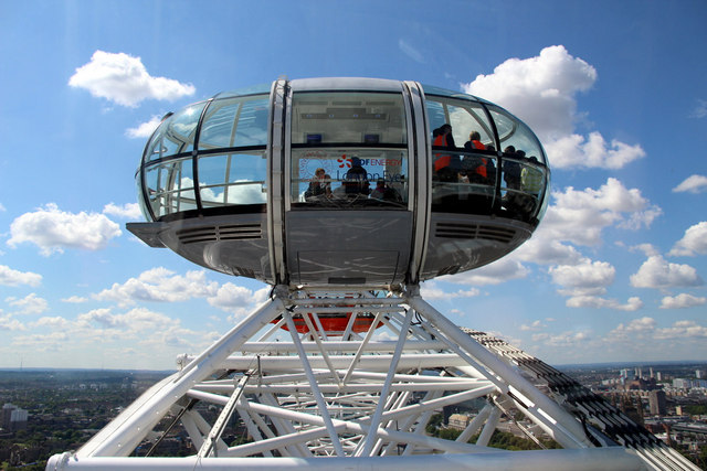 Top of the World, London Eye, London SE1