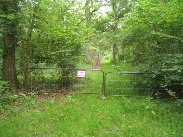 Pheasant breeding area - Black Wood