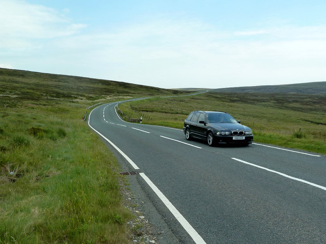 The A54 at Cheshire Knowl