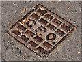 J3774 : GPO access cover, Belfast by Albert Bridge