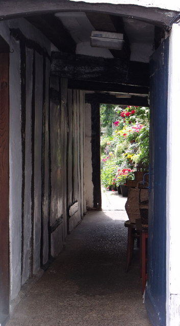 Passage to garden, Coggeshall