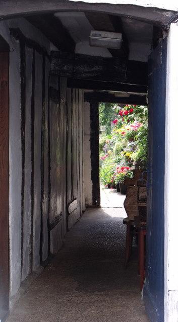 Passage to garden, Coggeshall