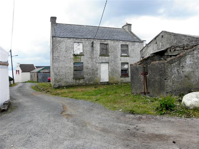 Derelict building, Tory Island