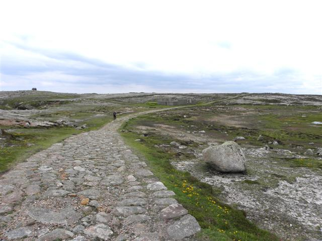 Old cobbled road, Tory Island