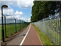 ST5316 : Footpath and Cycleway by Steve Barnes