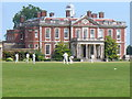 SU7610 : Cricket at Stansted House by Colin Smith