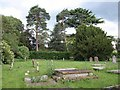 SP2658 : Churchyard, Wasperton by Derek Harper