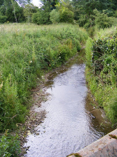 Stream after passing under Guestwick Road