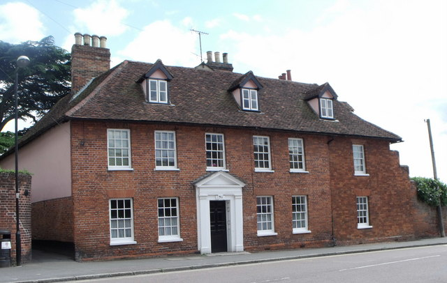 Georgian house, Coggeshall, Essex