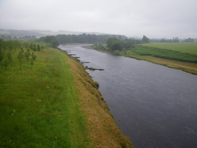 Looking upstream from Park Bridge