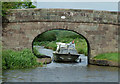 SJ9353 : Cruiser at  Smith's Bridge near Endon, Staffordshire by Roger  Kidd