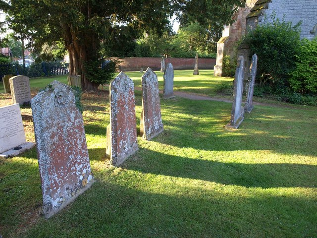Gravestones, Wellesbourne