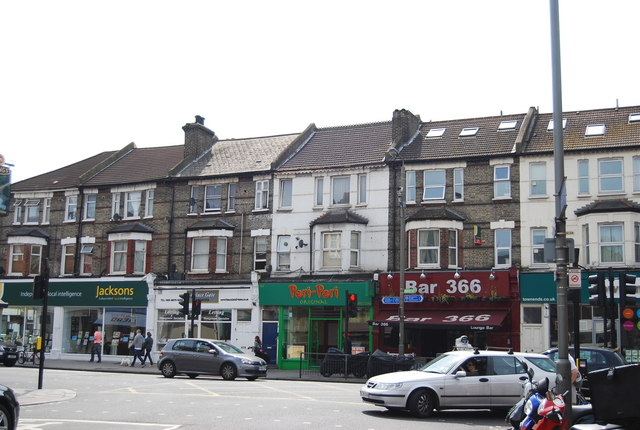 Shops, Garratt Lane