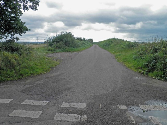 Junction with Frampton End Road
