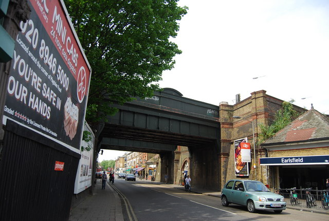 Railway Bridge, Garratt Lane